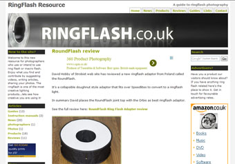 Ring Flash.co.uk website